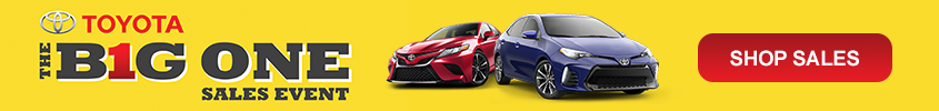 toyota of north miami big one sales event