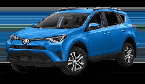 New 2019 Toyota RAV-4 LE