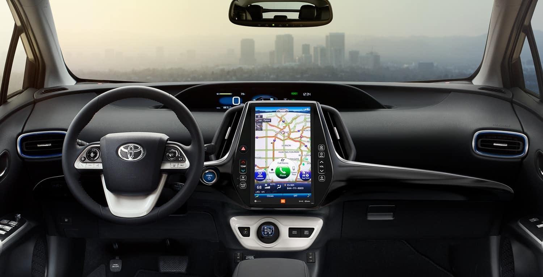 2018 Toyota Prius interior technology