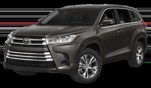 2019 Toyota Highlander LE gray