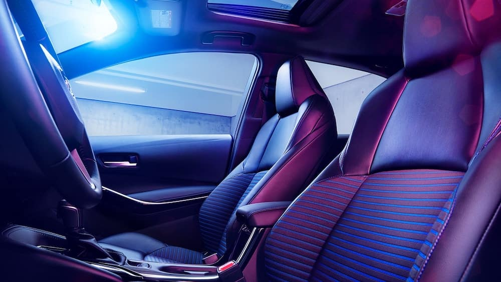 2020 Toyota Corolla interior seating