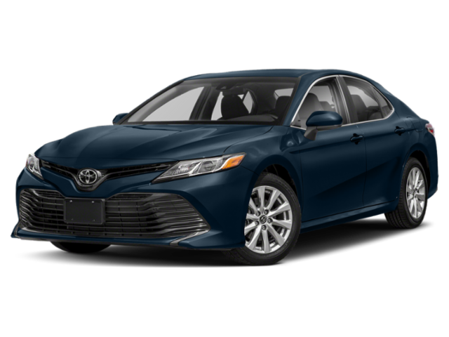 2019 Toyota Camry in blue