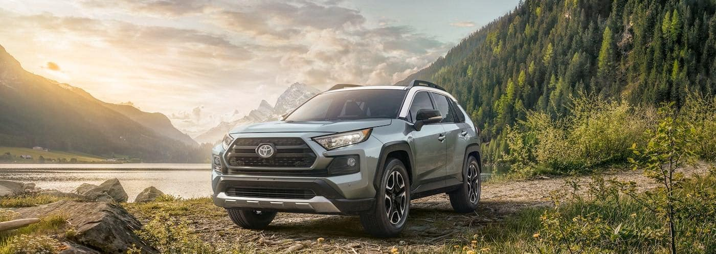2019 Toyota RAV4 Adventure with AWD off road