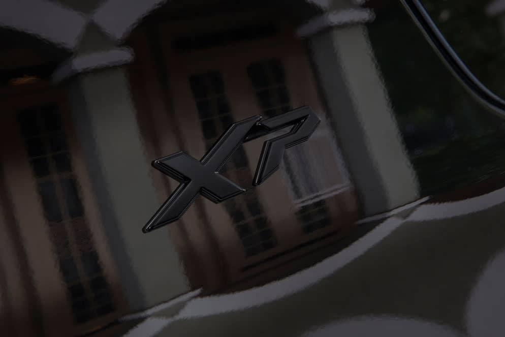 Toyota 4Runner black XP badging