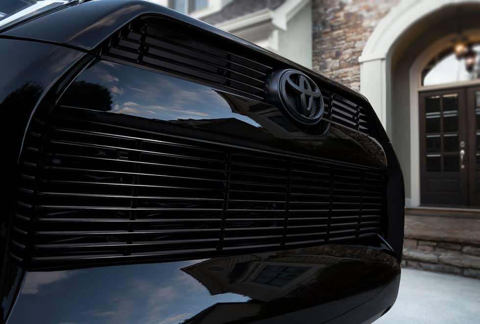 Toyota 4Runner XP black front grille billet