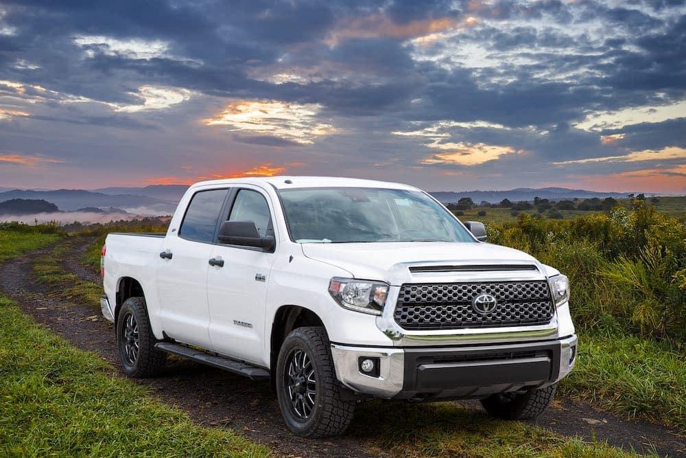 Toyota Tundra X Series model in field