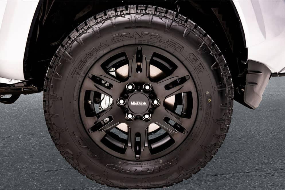 Toyota Tacoma XP Black Maverick wheel