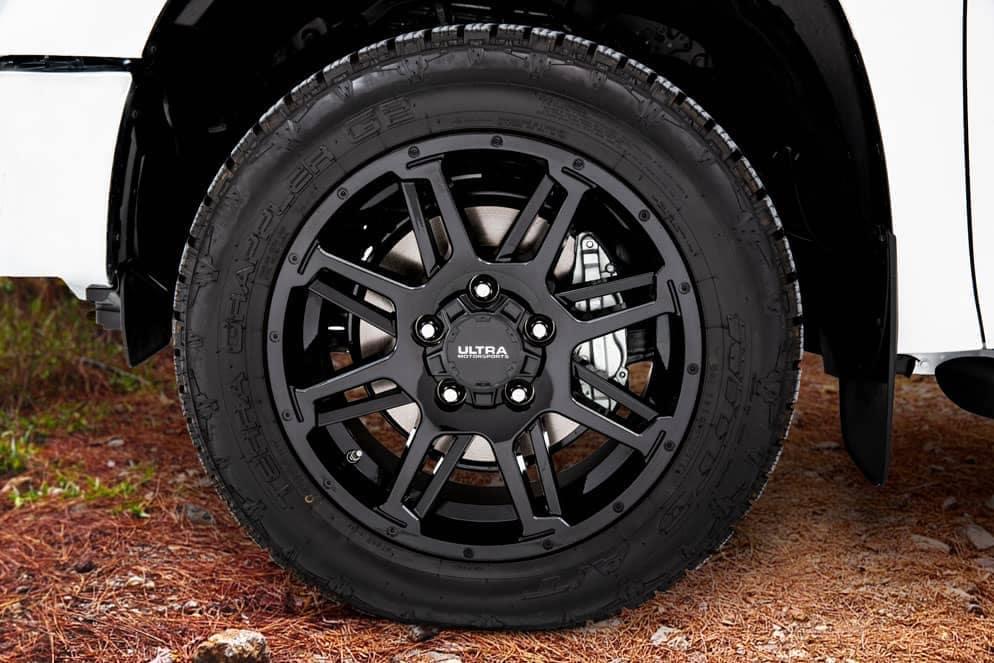 Toyota Tundra XP Gunner wheel and rim