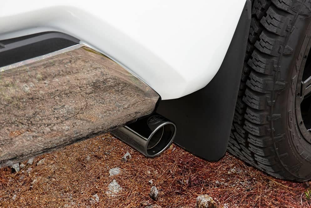 Toyota Tundra XP Gunner exhaust pipe black chrome