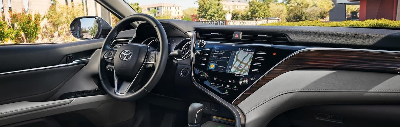2019 Toyota Camry dashboard 1400