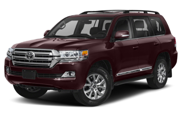 2019 Toyota Land Cruiser burgandy