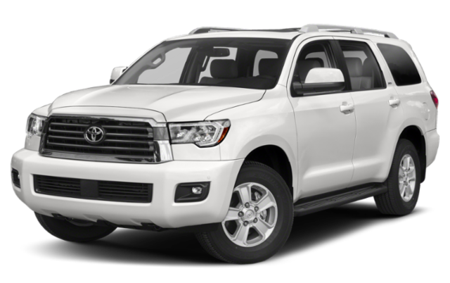 2019 Toyota Sequoia in white