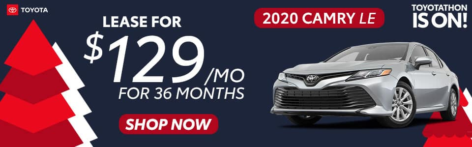 2020 Camry Lease Offer