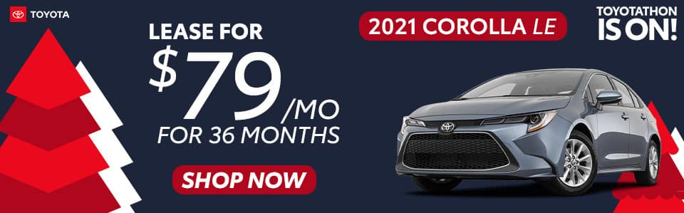2021 Corolla Lease Offer