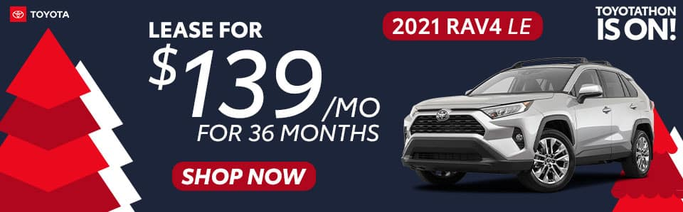 2021 RAV4 Lease Offer