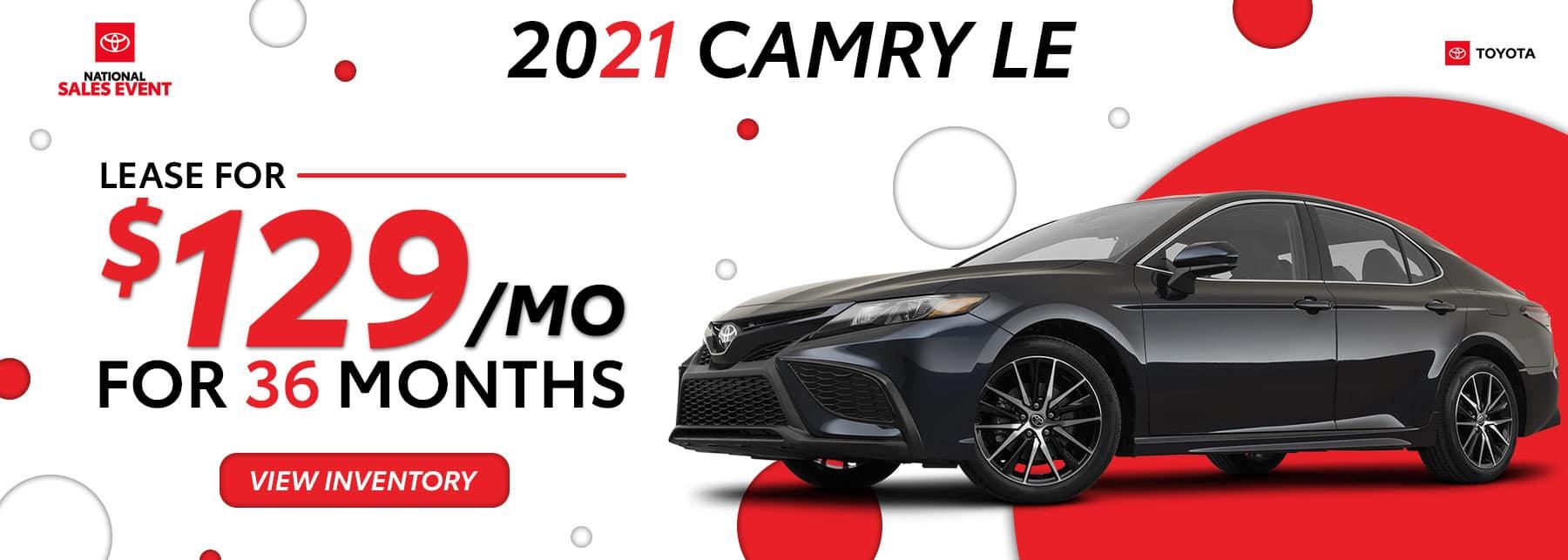 Toyota of North Miami – June 21 – 21 Camry – 1800×643