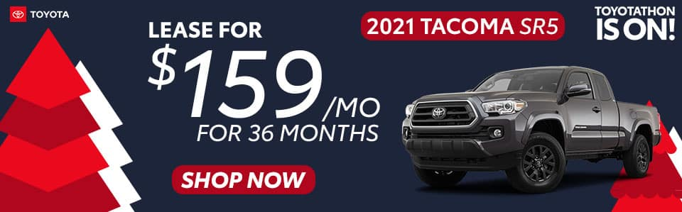 2021 Tacoma Lease Offer