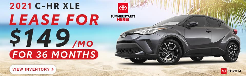 CHR Lease offer - May