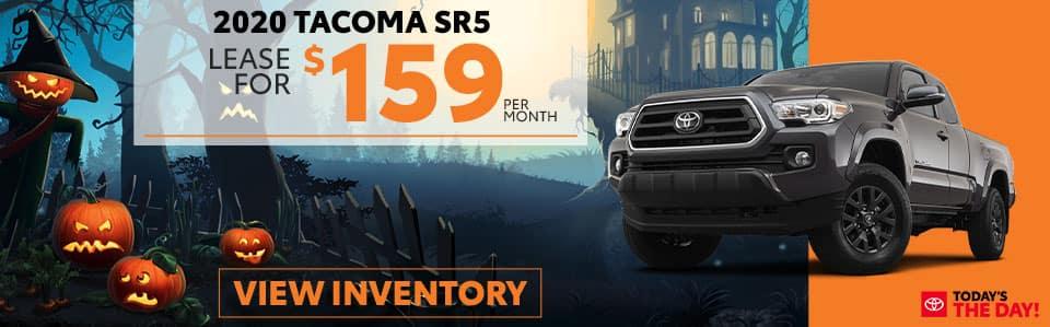 2020 Tacoma SR5 Lease Offer - October