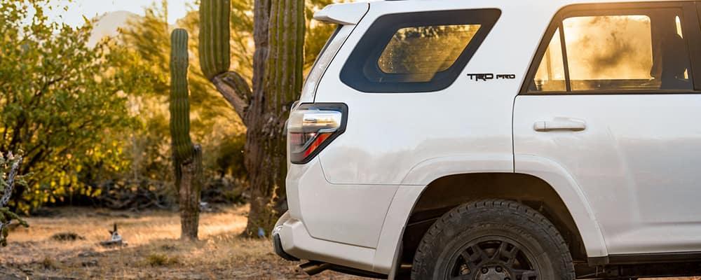 2020 Toyota 4Runner white