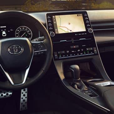 2020 toyota car interior