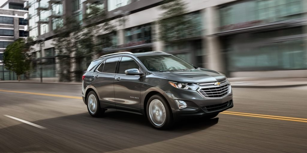 Lease a 2018 Chevrolet Equinox LS AWD