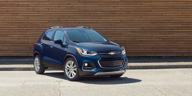 2018 Chevrolet Trax blue exterior
