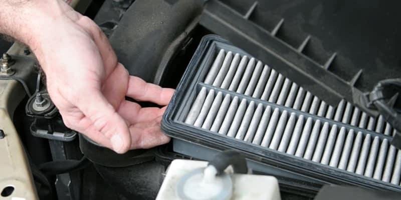 Dirty Car Air Filter