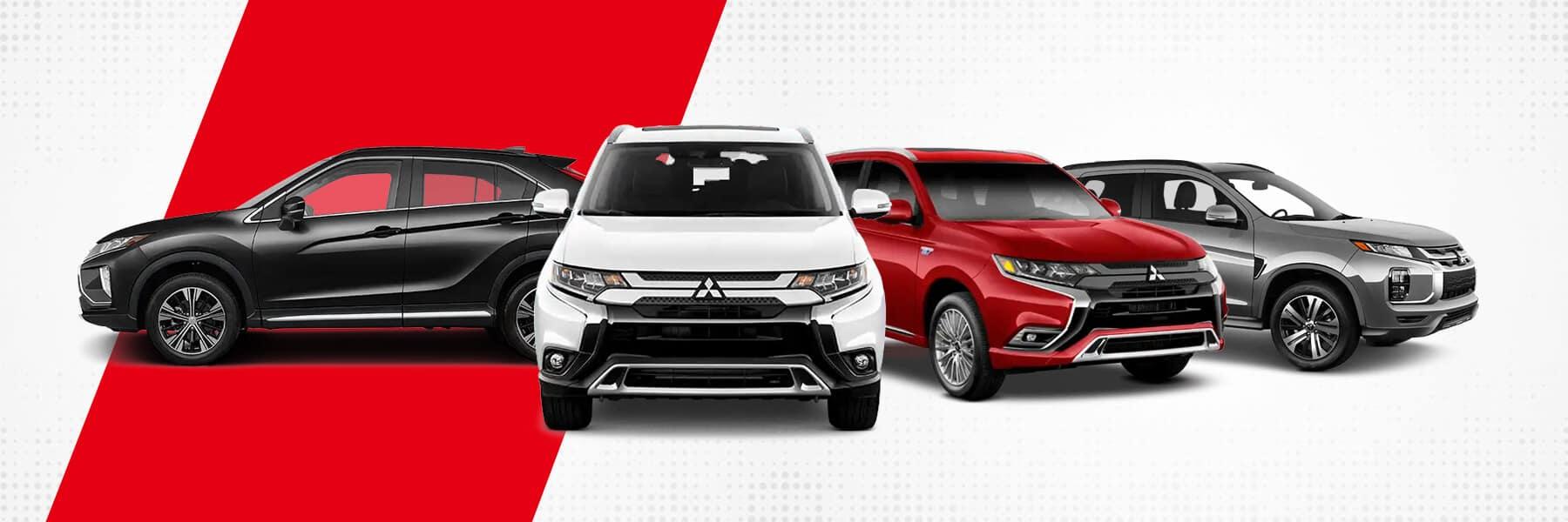 Mitsubishi SUV and Crossover Lineup