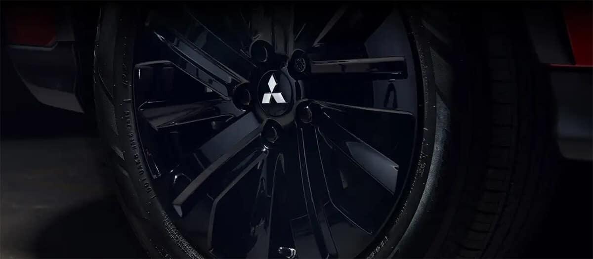 2021 Mitsubishi Outlander Sport Black Alloy Wheels Image