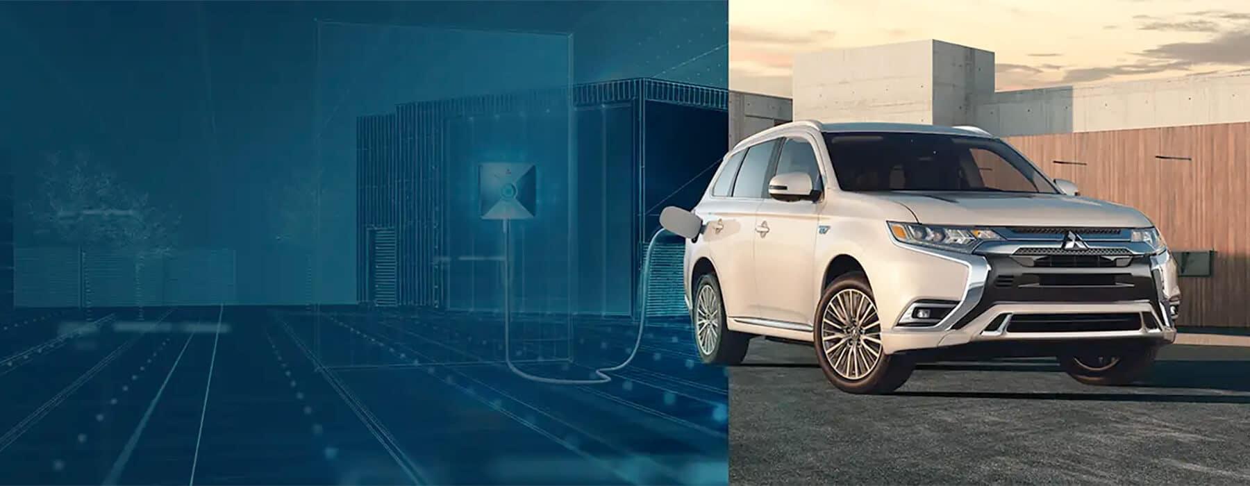 Mitsubishi Hybrids and Electric Cars Slider