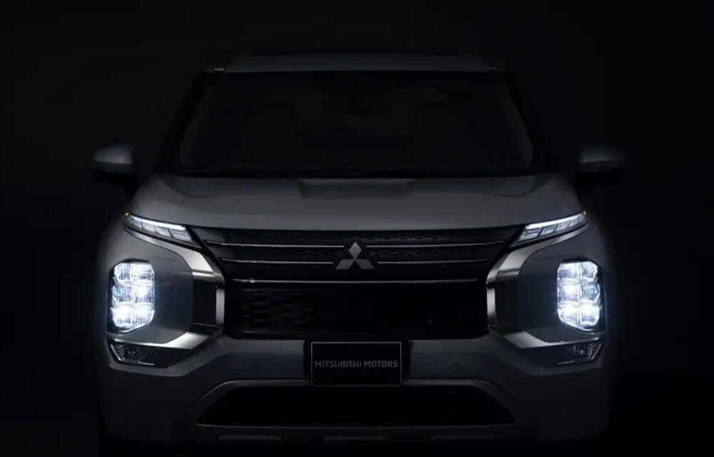 2022 Mitsubishi Outlander Light Profile