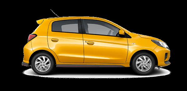 2021 Mitsubishi Mirage Carbonite Edition Hatchback Trim