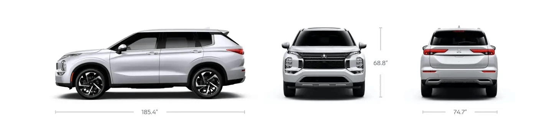 New Mitsubishi Outlander Dimensions