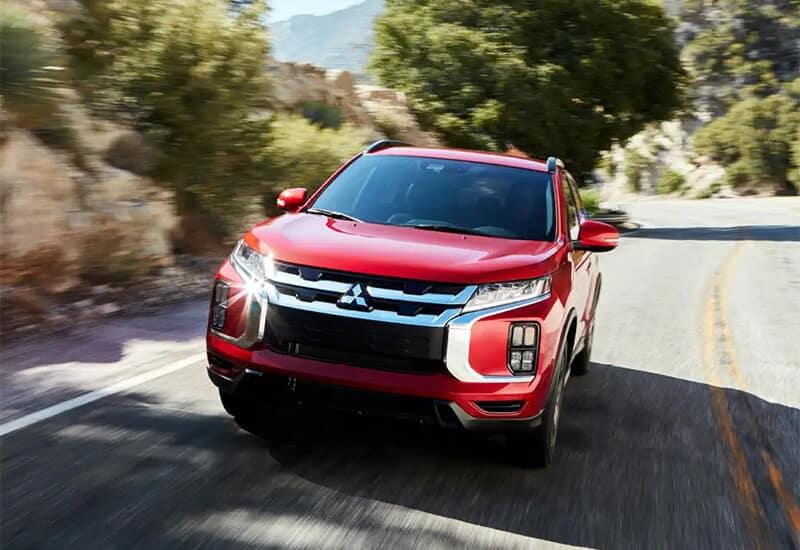 2021 Mitsubishi Outlander Sport Front Angle Image