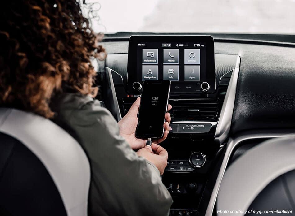 Mitsubishi myQ Connected Garage Android Auto Image
