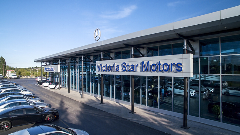 mercedes benz dealer in kitchener on victoria star