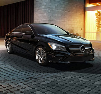 New Car CTA - Black Mercedes