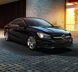 New Car CTA - Black Mercedes