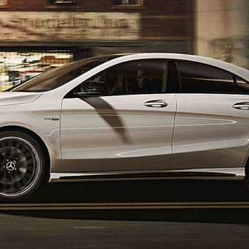 2017 Mercedes-Benz CLA side view