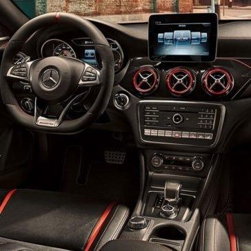 2017 Mercedes-Benz CLA interior features