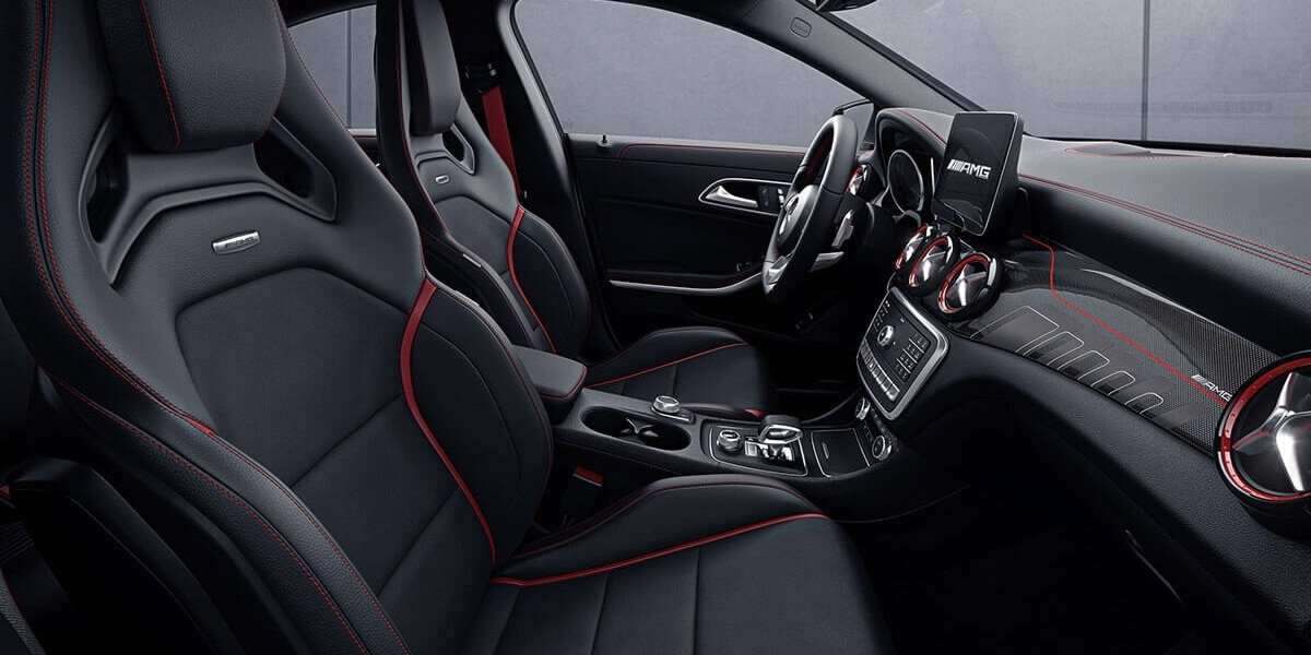 2017 Mercedes-Benz CLA front interior seating