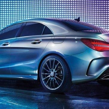 2017 Mercedes-Benz CLA rear view