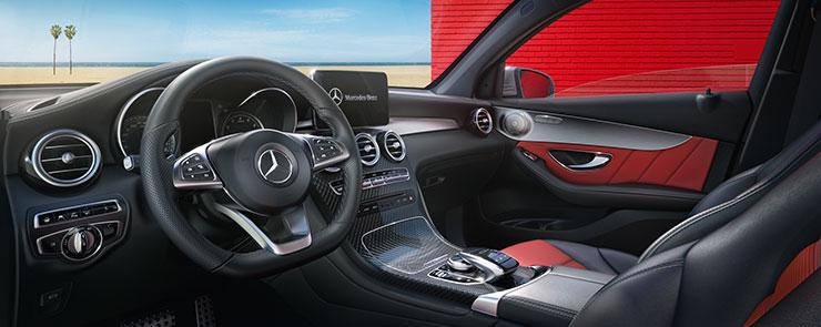 Interior of GLC Coupe