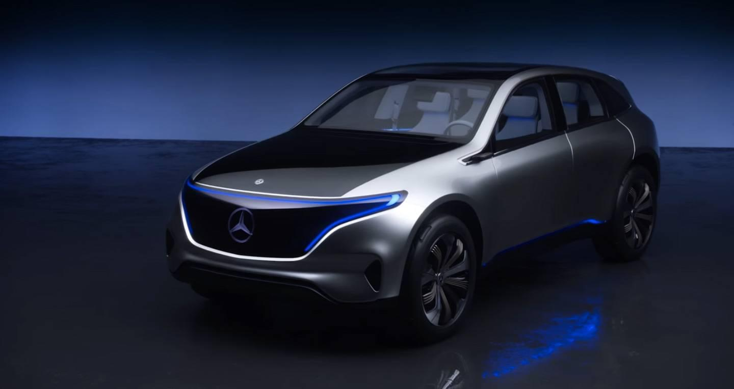 Preview Of The All Electric Mercedes Benz Eq Concept
