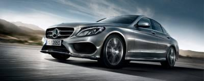 2017-mercedes-benz-c-class-exterior-gray-side-front