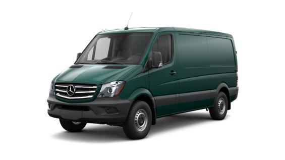 2017 Mercedes Benz Sprinter Cargo Van Vs 2017 Ford Transit