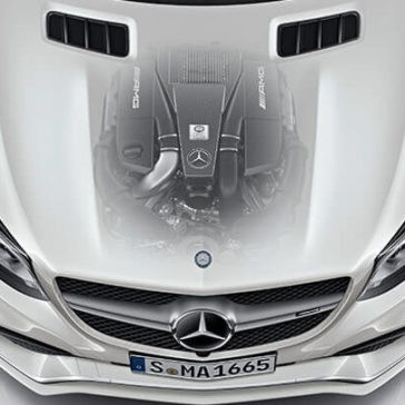 2017 Mercedes-Benz GLE 400 engine