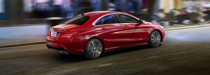 2018 Mercedes-Benz CLA 250 red exterior
