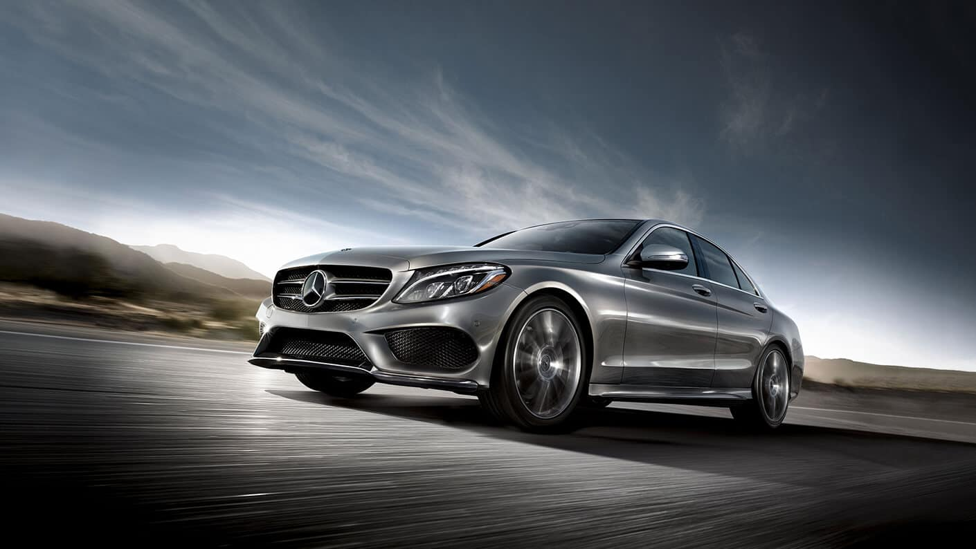 2018 Mercedes-Benz C 300 dark exterior model